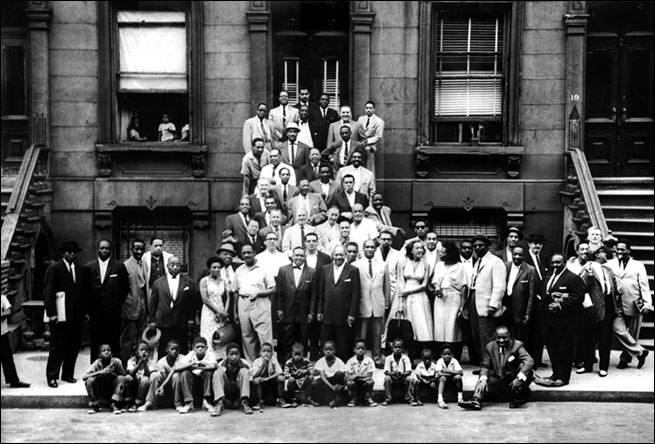 Harlem photo by Art Kane
